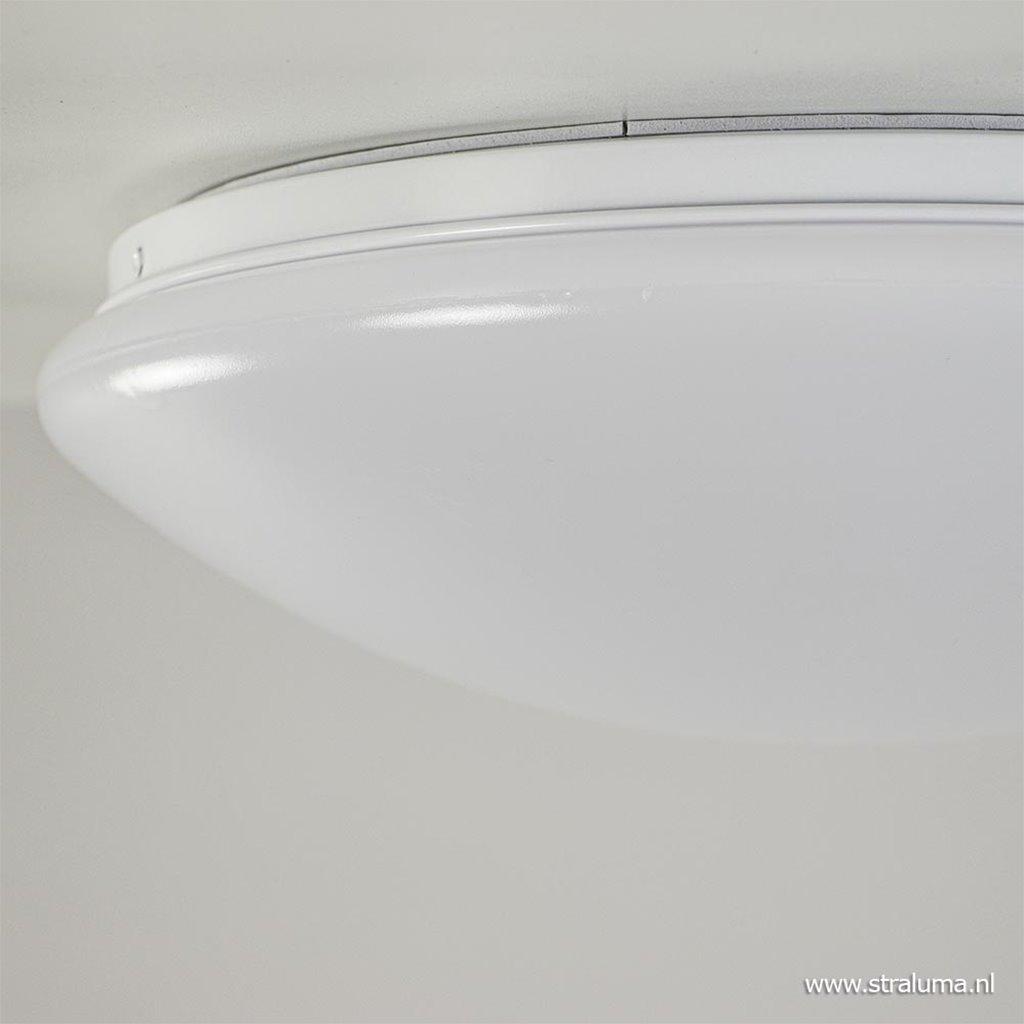 Kunststof plafonnière wit badkamer IP44