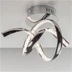*LED plafonnière-wandlamp chroom