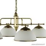 *Klassieke hanglamp brons eettafel rond