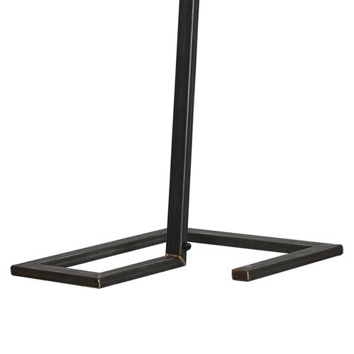Vloerlamp Tortona zwart staal