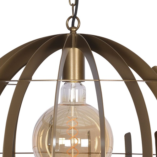 Hanglamp Terra 60 cm oud messing