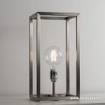 **Tafellamp opengewerkt frame rvs