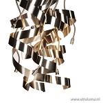 Vide hanglamp rvs krul op maat gemaakt
