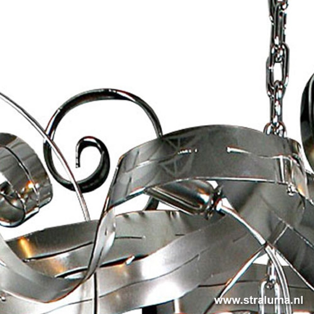 Vide hanglamp - chroom