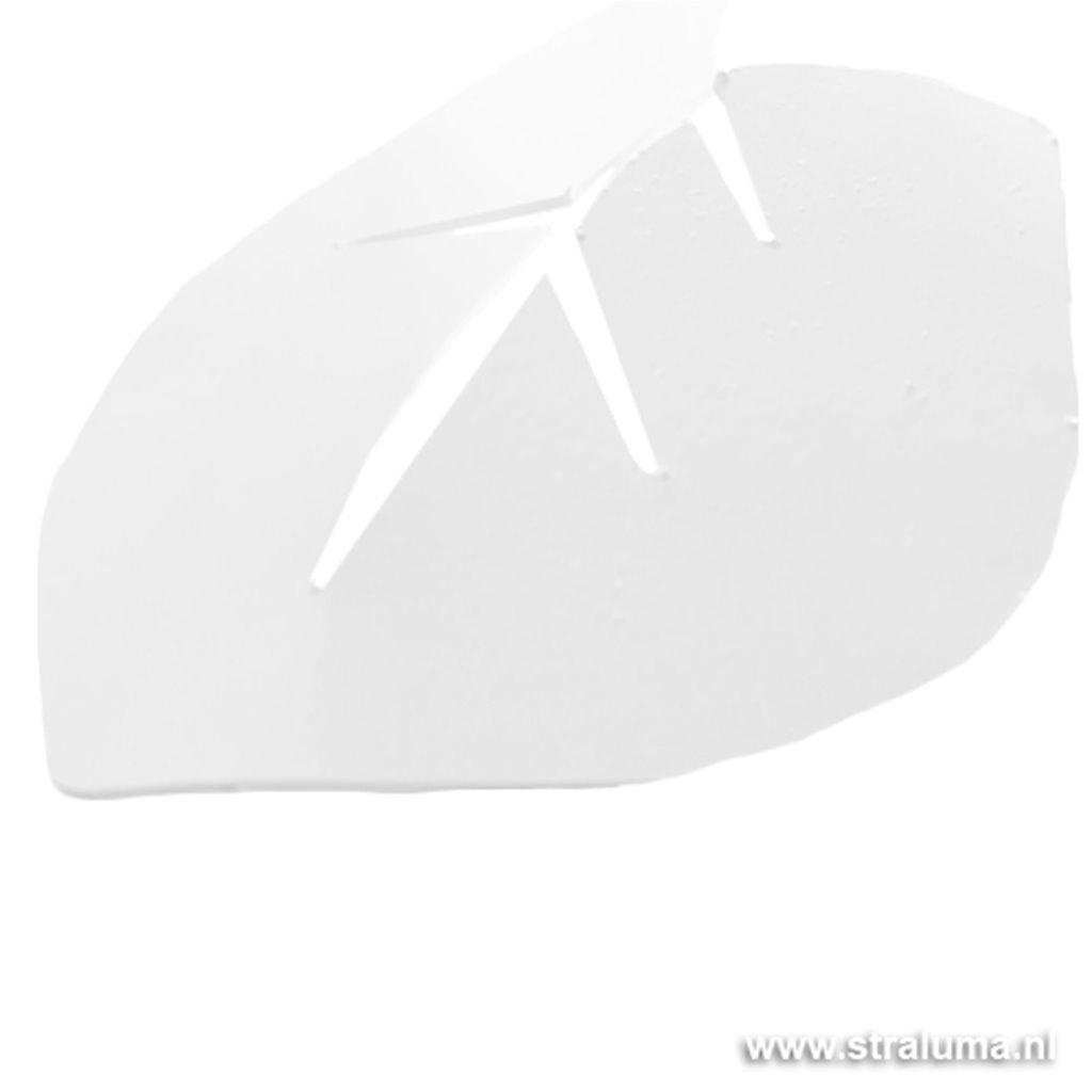 Hanglamp videlamp groot met wit blad