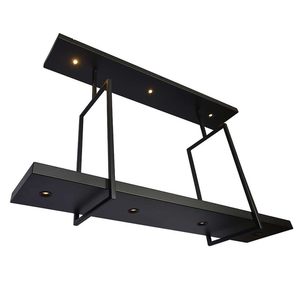 Grote design hanglamp plaat inclusief LED