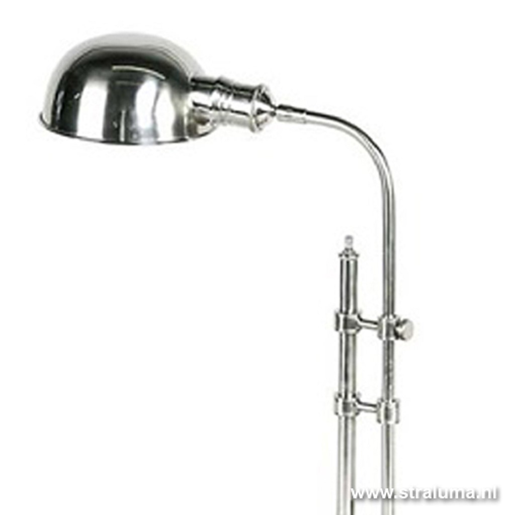 Bureaulamp greenwich zilver