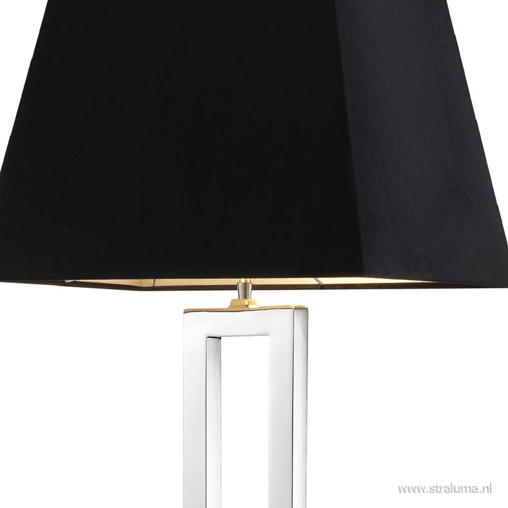 Vloerlamp Arlington zilver