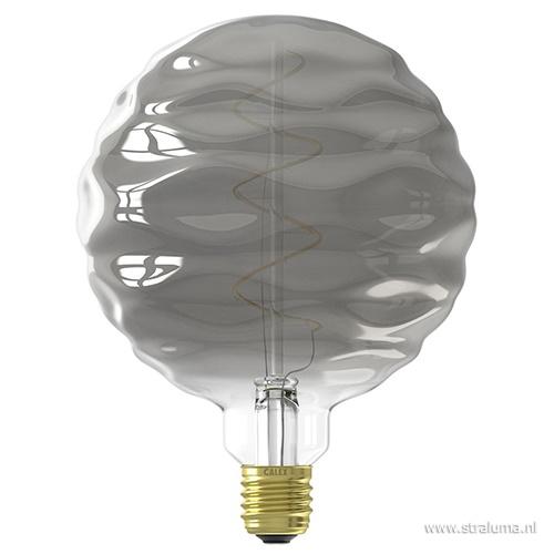 Calex Bilbao led lamp titanium 4w e27