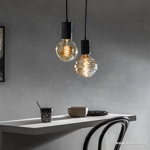 Calex Bilbao LED lamp gold E27