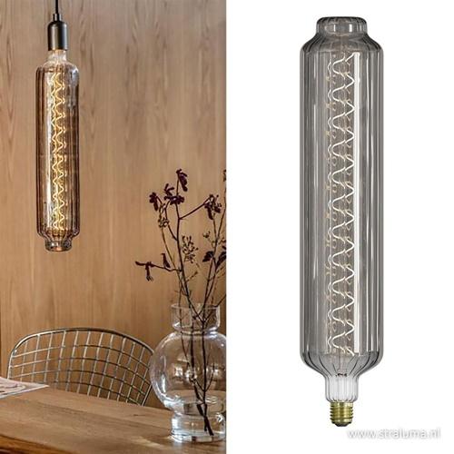 Calex XXL Lidingo lichtbron titanium 6W E27