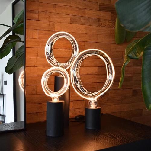 Calex tafellamp set 3x Rada inclusief armatuur