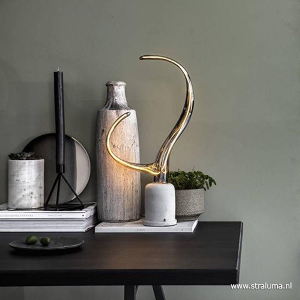 Calex Ypsilon LED lamp Titanium 240V 6W
