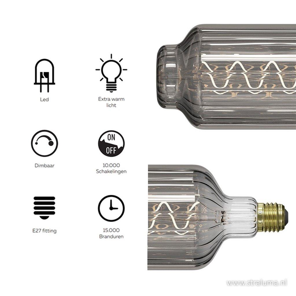 Calex Lidingo titanium led dimbaar