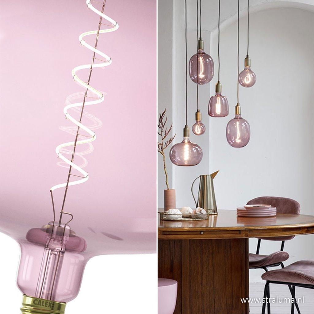 Calex Boden Quartz Pink 2000K dimbaar