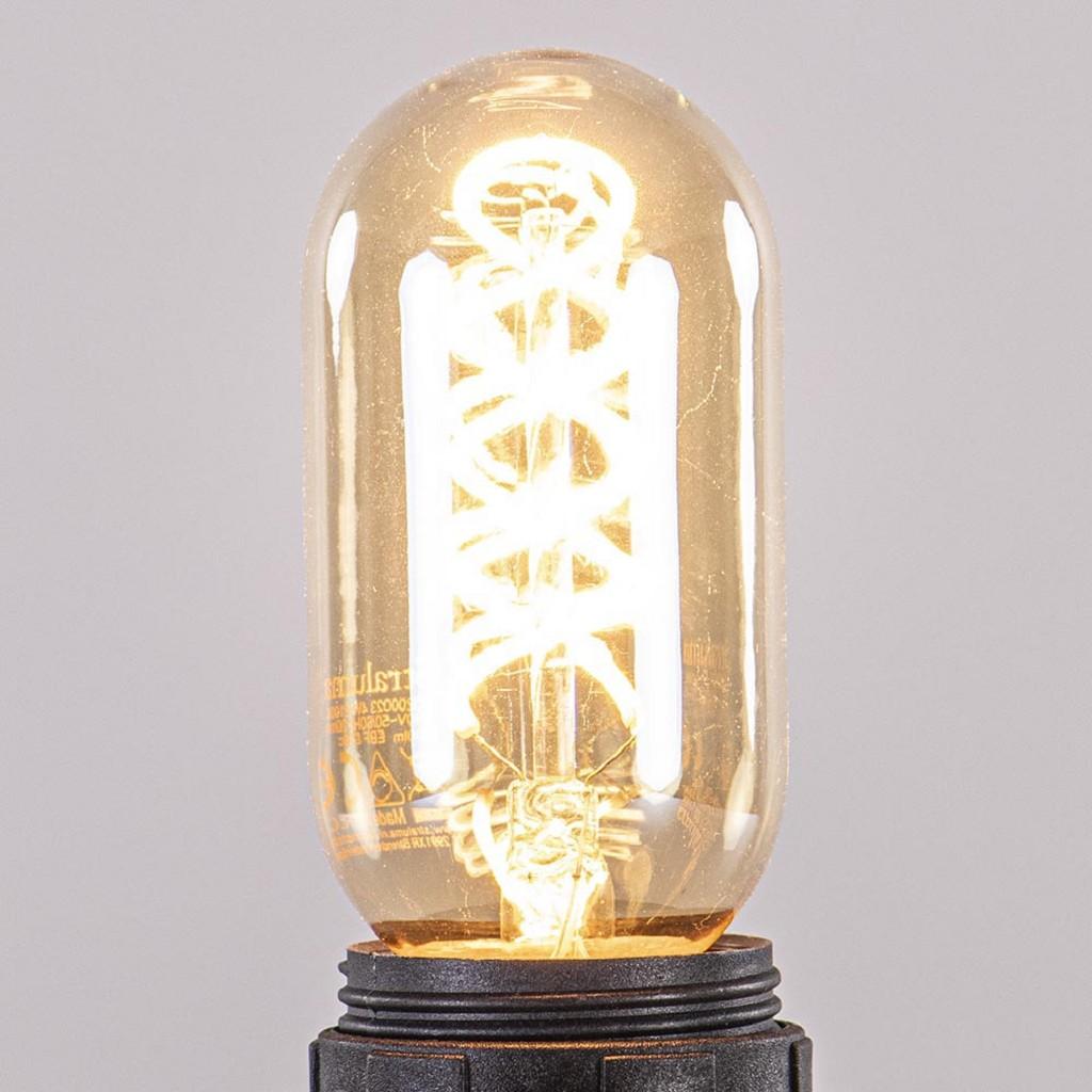 LED 6W E27 Buis T45 Gold dimbaar