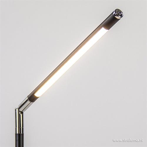 Moderne LED tafellamp zwart dimbaar