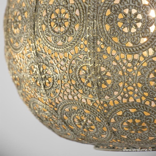 Plafondlamp Motivo oosters antiek goud