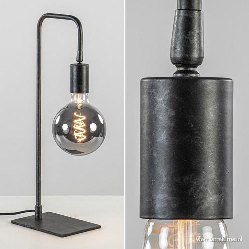 Tafellamp basic gunmetal