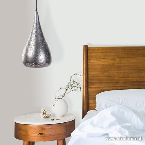Modern oosterse hanglamp slaapkamer straluma for Slaapkamer hanglamp