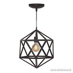 Hanglamp Cubo zwart medium