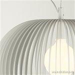 *Scandinavische design hanglamp wit