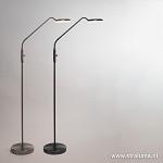 Moderne stalen vloerlamp LED dimbaar