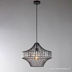 *Moderne draad hanglamp zwart keuken