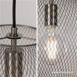 *Bolvormige Hanglamp Gaas metaal