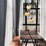 Ronde 3-Lichts hanglamp glas amber