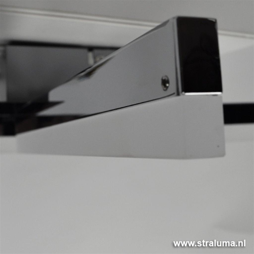 **Chroom plafonnière LED Sopra keuken