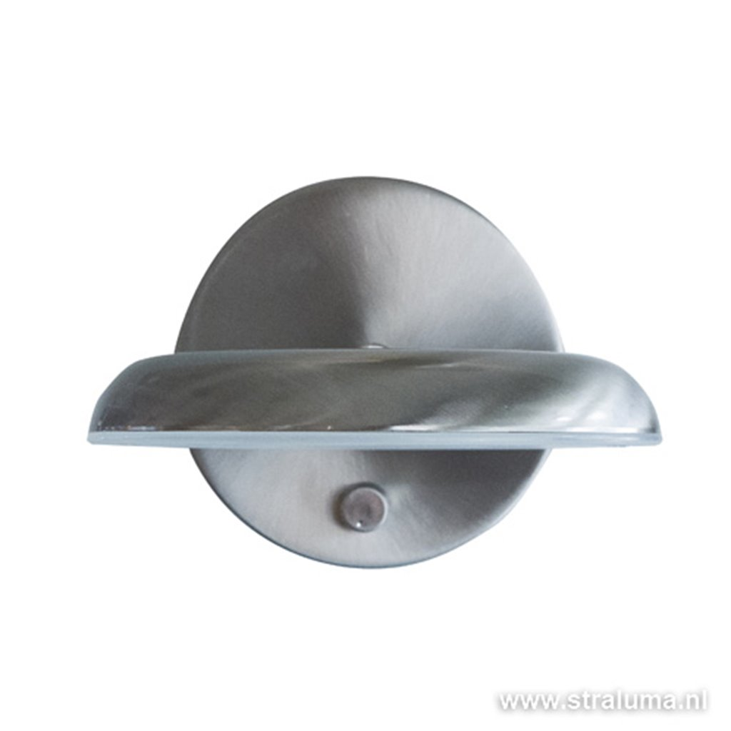 *Moderne stalen wandlamp LED dimbaar