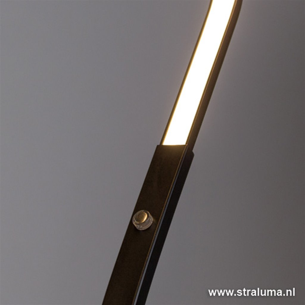 LED design bureaulamp zwart