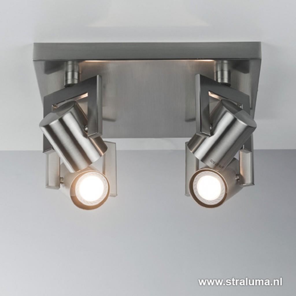 Moderne 4-lichts LED plafondspot keuken