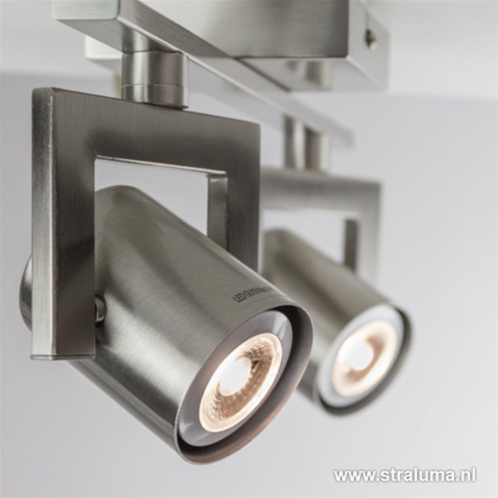 Stalen LED plafondspot modern gang, hal