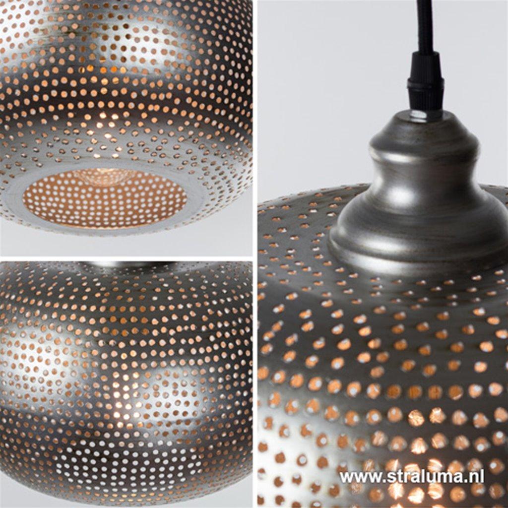 Kleine oosterse hanglamp toilet/hal