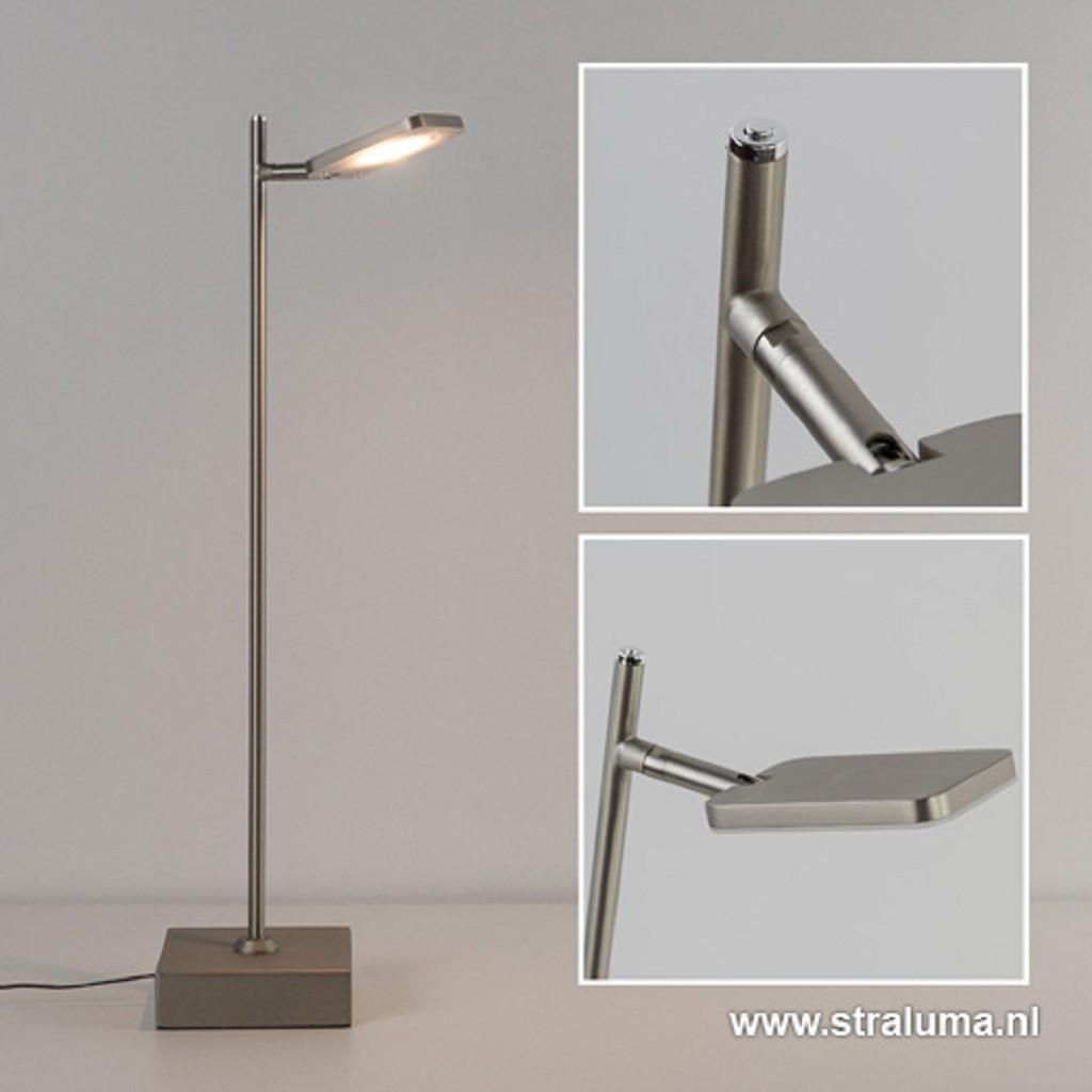 Verstelbare design led tafellamp staal