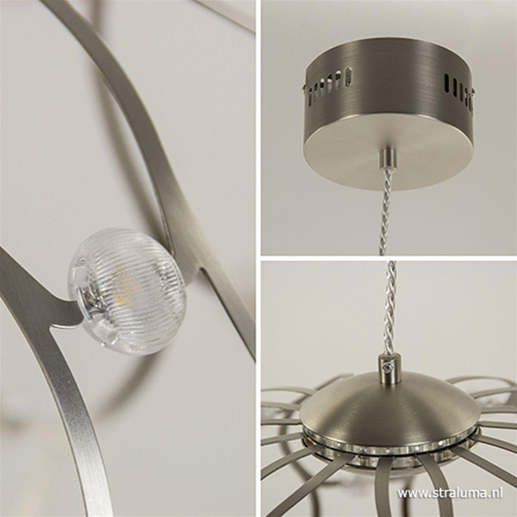 Ronde hanglamp LED met 3-standen dimmer