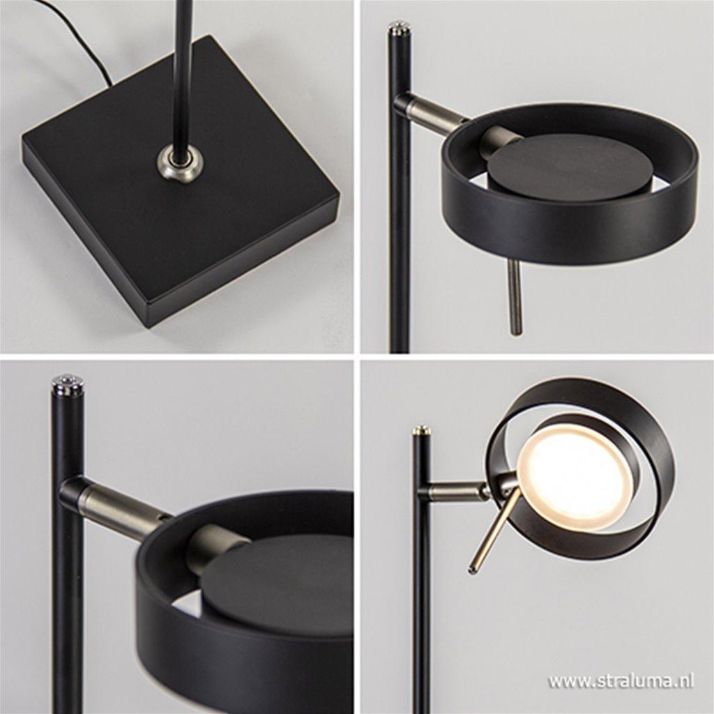 Verstelbare moderne vloer/leeslamp LED