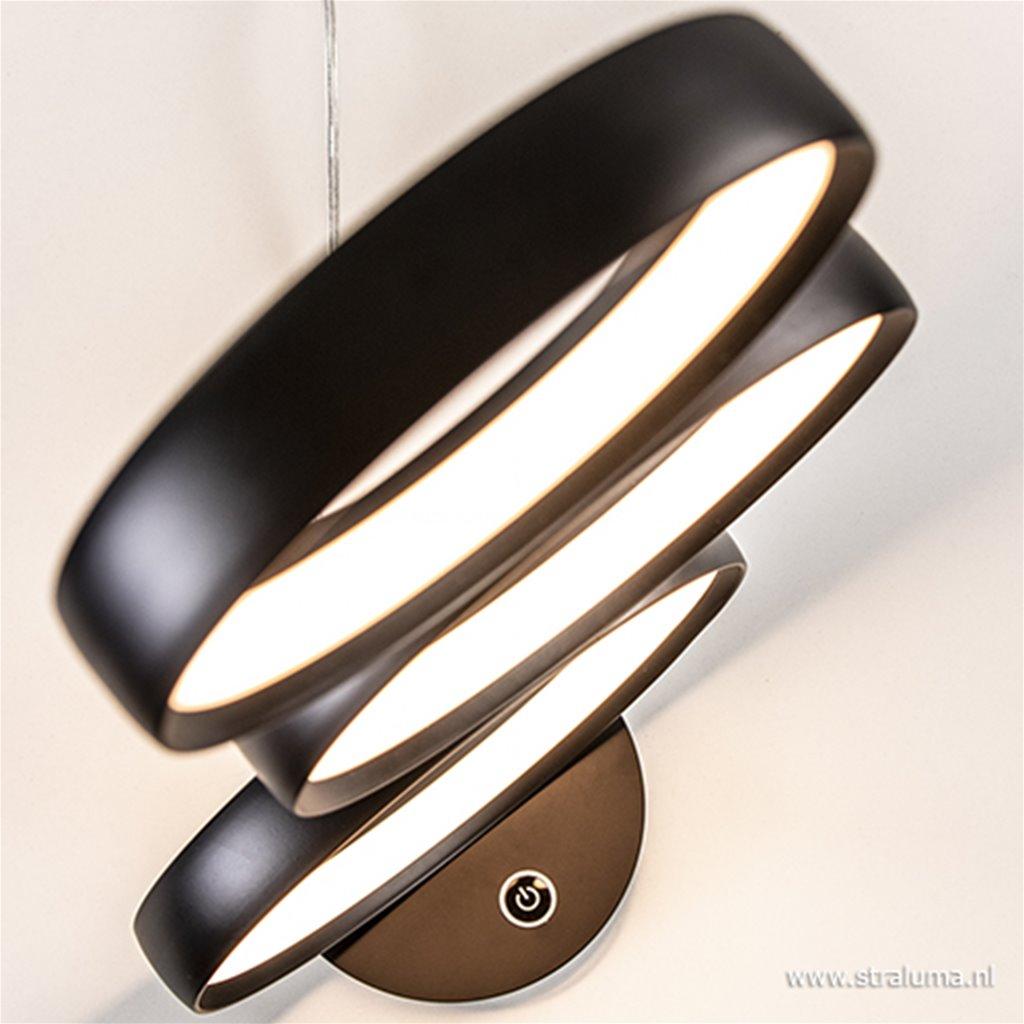 Moderne LED tafellamp cirkels dimbaar