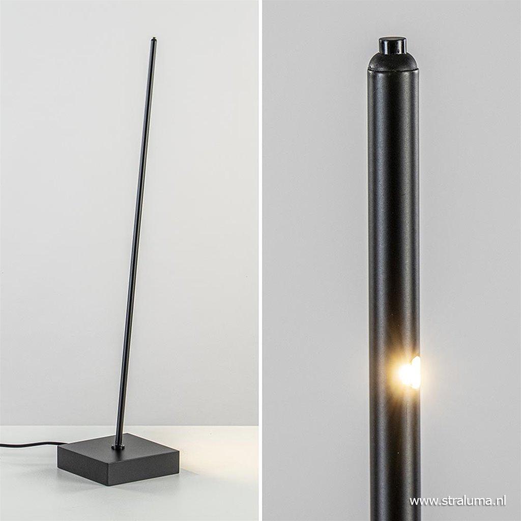 Moderne tafellamp met geïntegreerd LED dimbaar