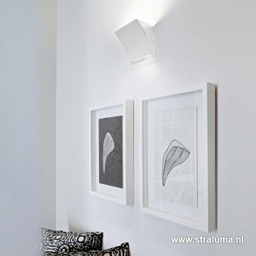Wandlamp Flos Pochette wit
