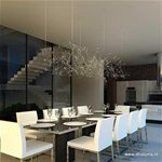 Luxe design hanglamp staal inclusief LED
