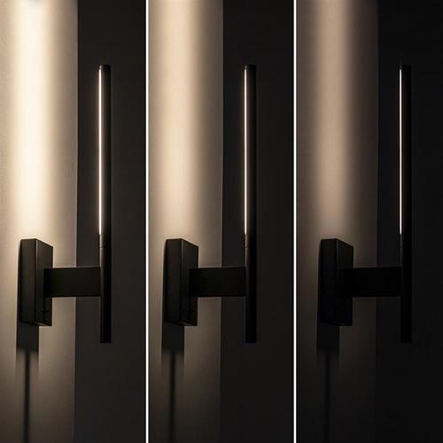 3-Standen dimbare wandlamp met verstelbare kap