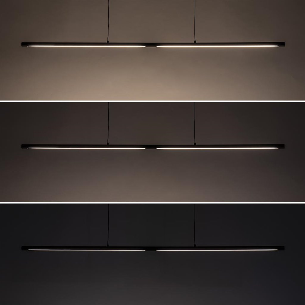 Moderne LED hanglamp met 3-standen dim functie