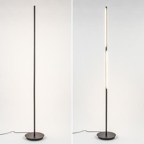 Verstelbare LED vloerlamp met 3-standen dim functie