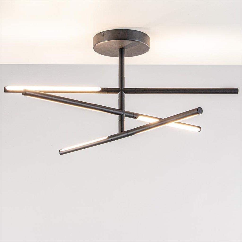 Verstelbare LED plafondlamp met 3-standen dim functie
