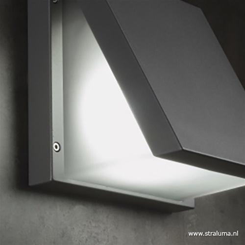 Buitenlamp wandlamp antraciet IP54