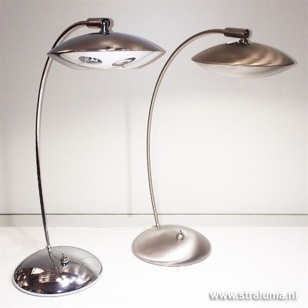 Tafellamp LED bureaulamp chroom