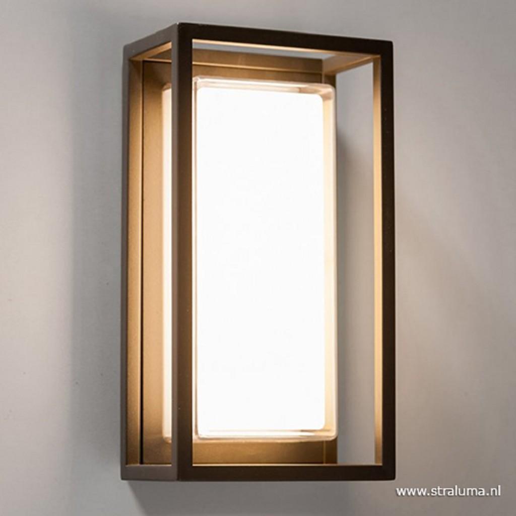 Buitenlamp LED antractiet frame modern